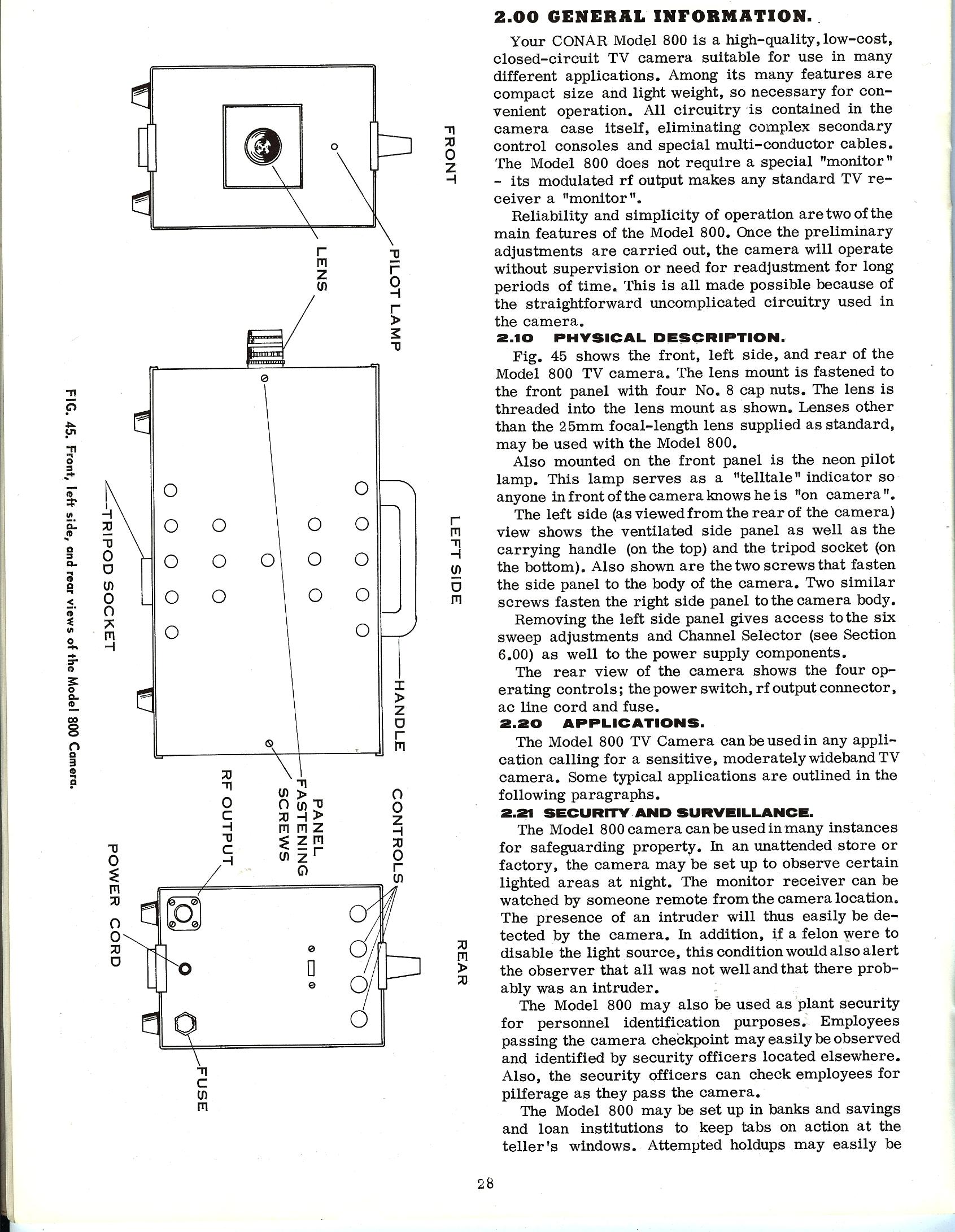 conar 800 camera manual and instructions smecc