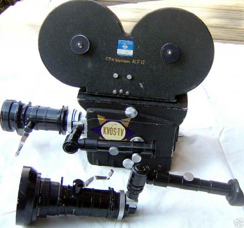 film cameras for television news